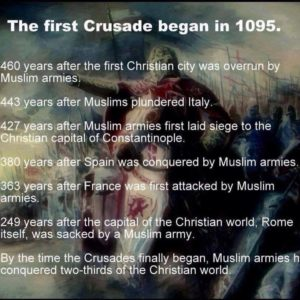 crusades-began